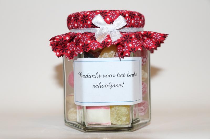 Beroemd bedankje meester/bedankje juffrouw bestellen: Oud Hollands snoep #LV08